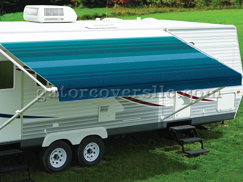 Fiesta Traditional Spring-Loaded Awning