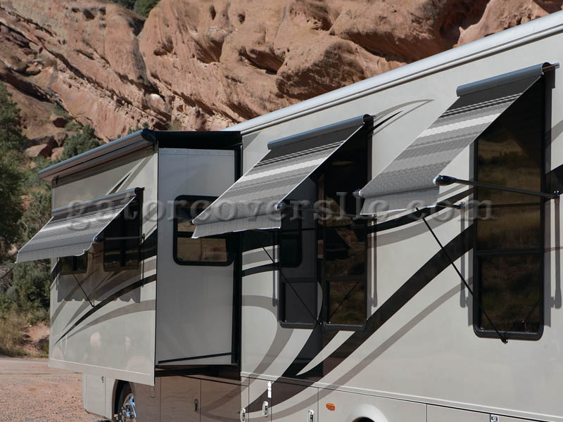Vinyl Armored SL Companion Awnings