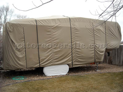 Fifth Wheel Trailer Cover