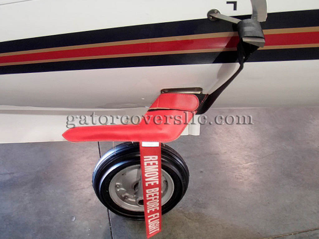 Pitot Covers - Pitot Covers With AOA Straps, Non-Burning Type (Set Of 2)