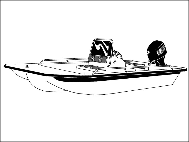 Center Console Bay Boat