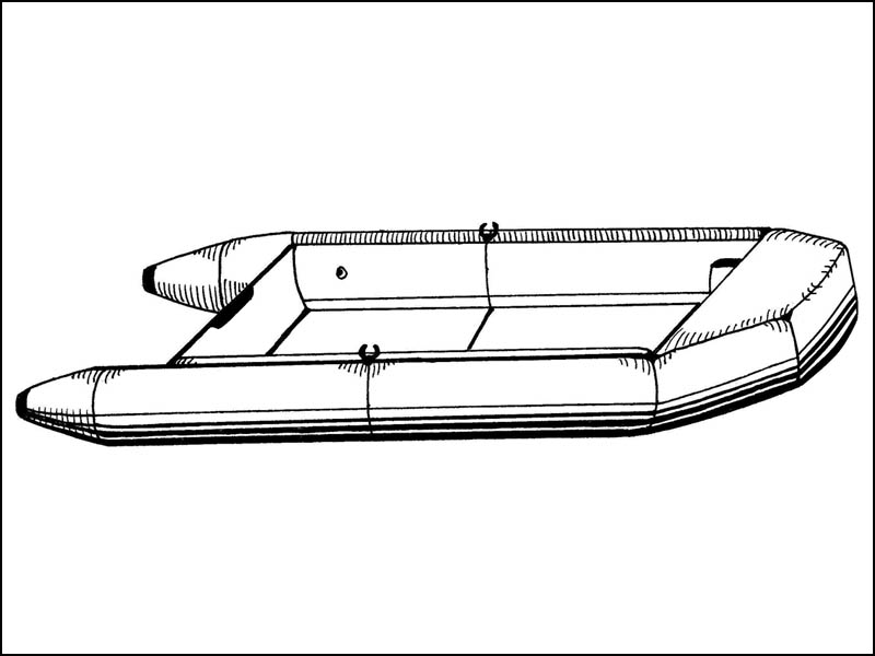 Blunt Nosed Inflatable Boat