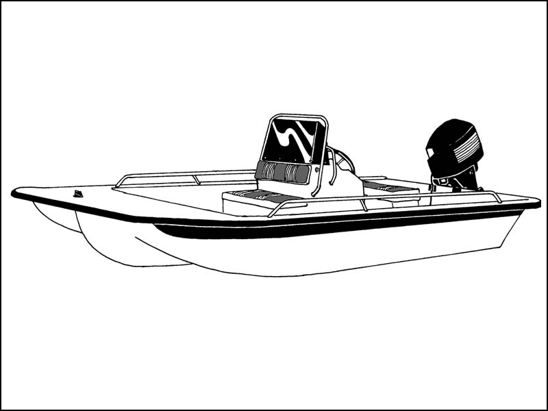Center Console Bay Boat - Narrow