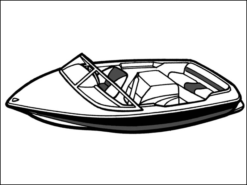 Tournament Ski Boat