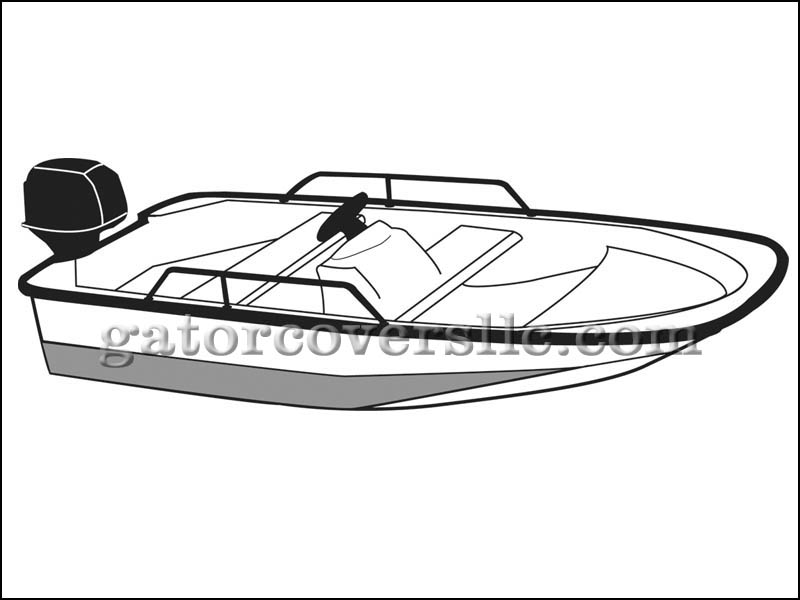 Whaler Style Boats with Side Rails Only