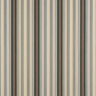 Alpine/Burgundy-Pencil Stripe