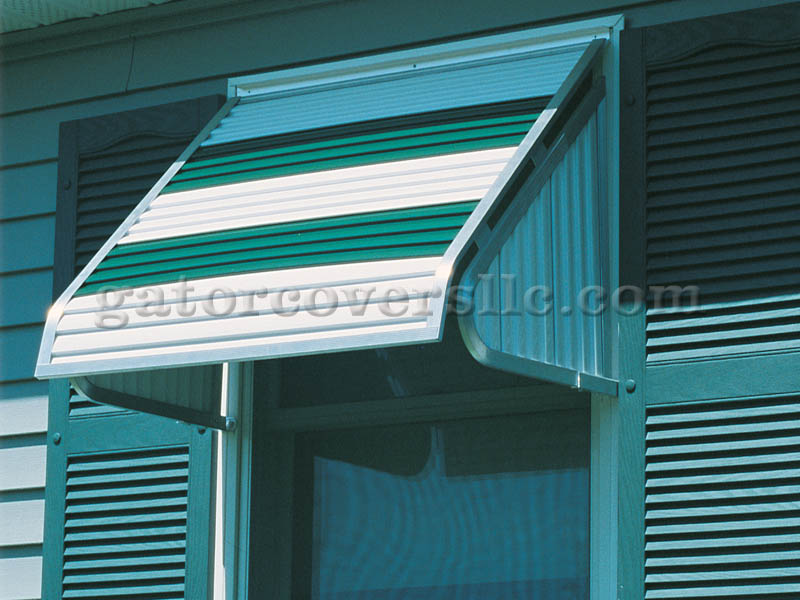 3500 Series Aluminum Window Awnings
