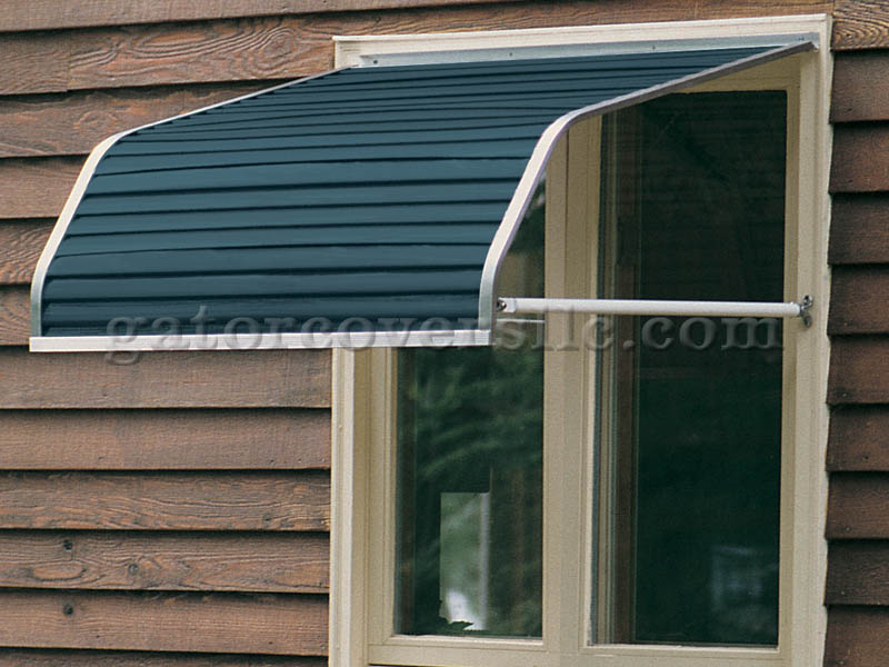 4100 Series Aluminum Window Awnings