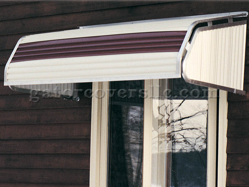 4500 Series Aluminum Window Awnings