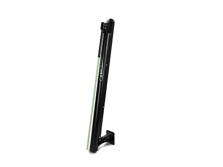 8ft Sportsman 2 Power Pole - 8ft Black with CM2
