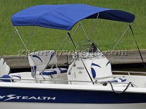 3-Bow Stainless Steel Bimini Top