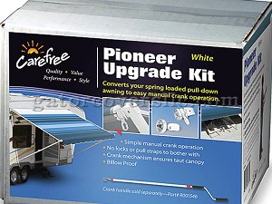 Pioneer End Cap Upgrade Kit, White