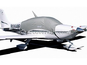 Canopy Cover, (extended to cover parachute panel), Belly Strap Type