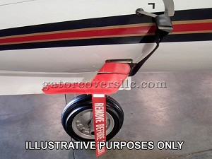 Pitot Covers - non-burning type (set of 2)