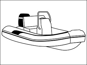 16ft 6in Blunt Nose Inflatable with Tall Center Console