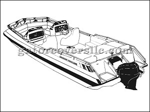 "15' 6"" Deck Boat With Low Rails (Outboard)"