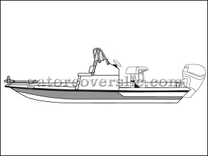 "24' 6"" Flats Boat With Low Grab Rail"