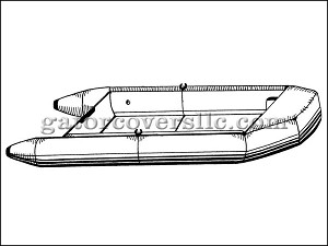 "15' 6"" Blunt Nose Inflatable Boat - Extra Wide"