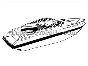 "17' 6"" V-Hull, Low Profile Cuddy Cabin Boat"