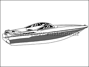 "25' 6"" Ski Boat With Low Profile Windshield (Stern Drive)"
