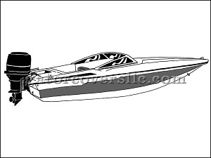 "21' 6"" Ski Boat With Low Profile Windshield (Outboard)"