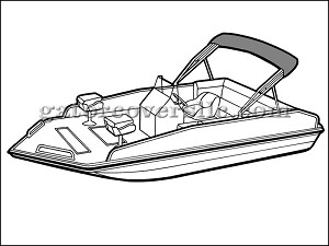 "21' 6"" Performance Deck Boat (Stern Drive)"