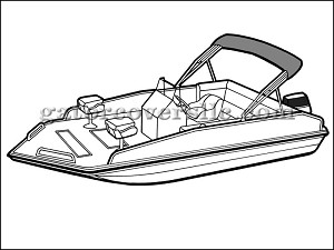 "25' 6"" Performance Deck Boat (Outboard)"